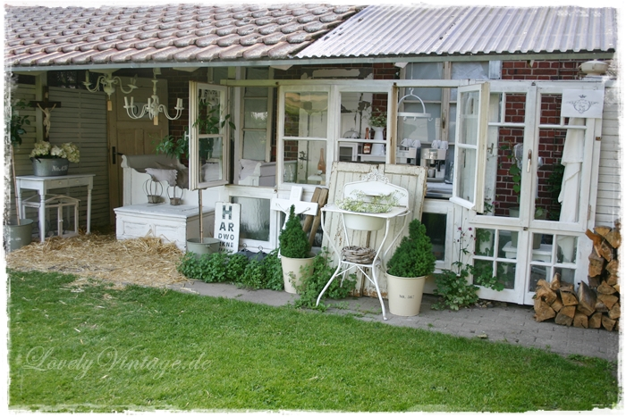 Lovely vintage home - Shabby chic gartenhaus ...